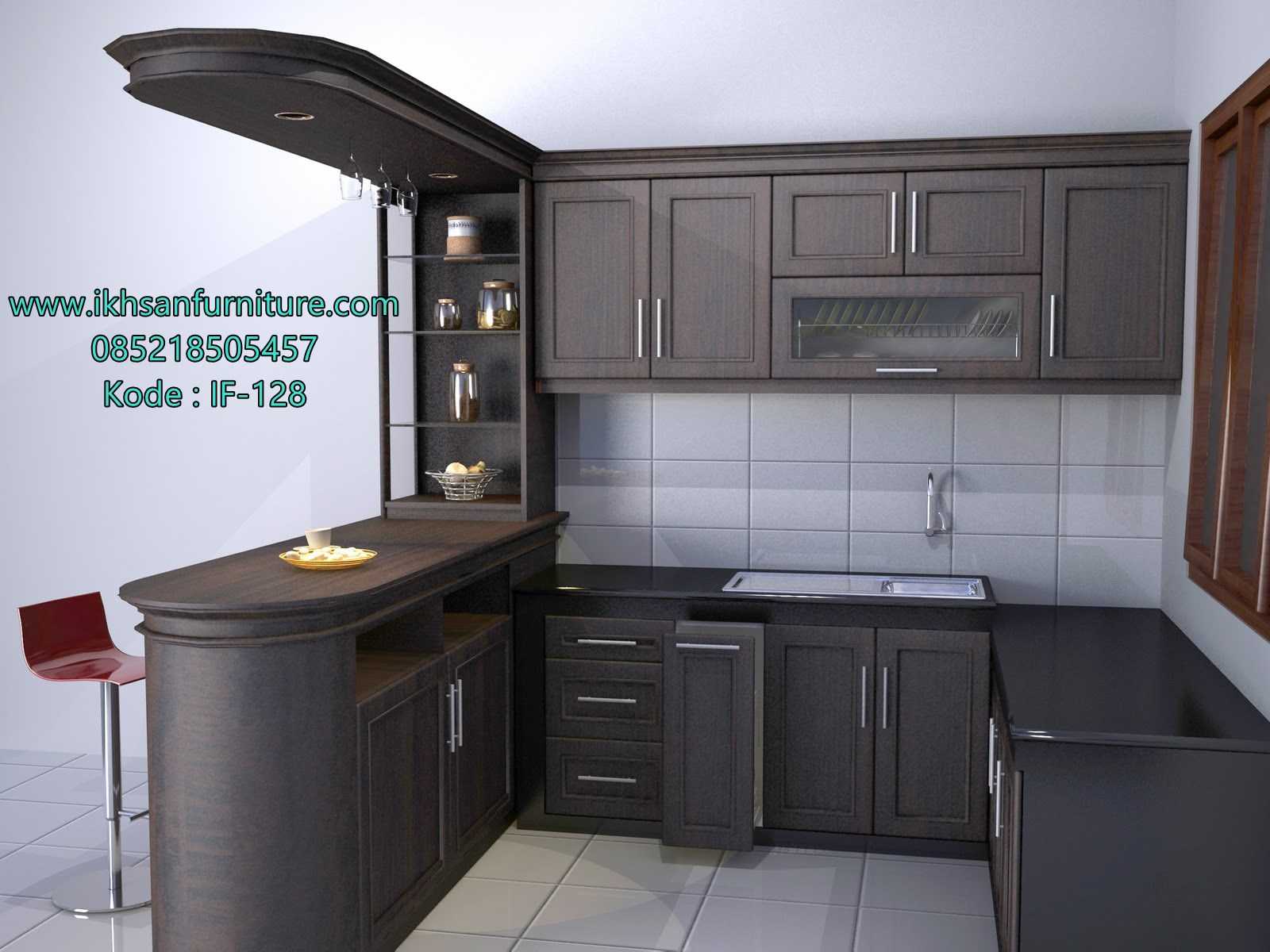 Kitchen set minimalis jual kitchen set minimalis terbaru for Kitchen set yang sudah jadi