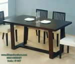 Set Meja Makan Minimalis Furniture Cafe